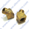 BRASS 45* STREET ELBOW