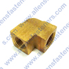 BRASS 90* FEMALE PIPE ELBOW