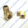 BRASS 90* STREET ELBOW
