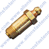 1/8-27 THREAD,OVERALL LENGTH 1-1/4,BALL CHECK,PLATED (GOLD).