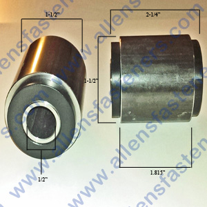 PIVOT BUSHING WITH DELRIN
