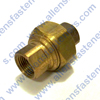 BRASS UNION SWIVEL