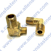 BRASS 90* MALE DOUBLE END ELBOW