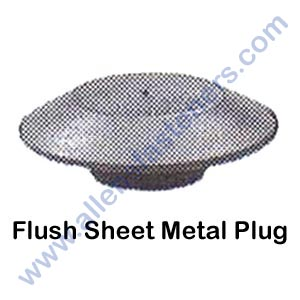 FLUSH SHEET METAL PLUG