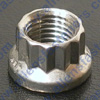ARP 12PT STAINLESS STEEL STANDARD THREAD NUTS,RATED AT 180,000 PSI TENSILE STRENGTH.