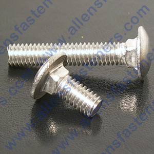 m8-1.25 METRIC CARRIAGE BOLTS (STAINLESS)