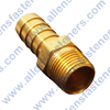 BRASS STRAIGHT HOSE BARB CONNECTER