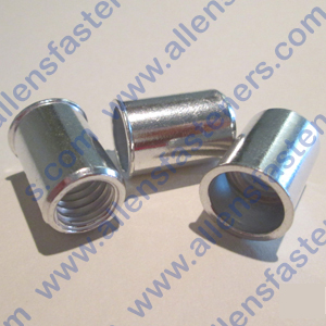 POLY NUTS (ALUMINUM) STANDARD THREAD