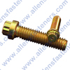 1/4-20 12 PT YELLOW ZINC PLATED FLANGE BOLT