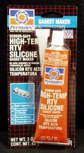 Permatex Low Volatile High Temp Orange Silicone