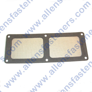 TOP BLOWER GASKET WITH SCREEN