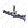 5mm-0.80 FLAT HEAD ALLEN BOLT,(A2-70 STAINLESS STEEL),BOLTS ARE FULLY THREADED UNLESS NOTED.