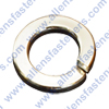 CHROME METRIC LOCK WASHER