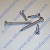 #8 STAINLESS STEEL FLAT HEAD  PHILLIPS TEC