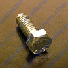 7/16-20 GRADE 5 HEX BOLTS,ARE BLUE ZINC PLATED (SILVER),PARTLEY THREADED UNLESS NOTED AND WRENCHING/HEX SIZE IS 5/8. (IMPORTED)