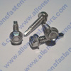 #8 STAINLESS STEEL HEX WASHER HEAD TEC SCREW