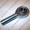 FK BEARINGS JMX SERIES TEFLON LINED MALE ROD END