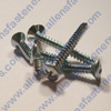 # 4 OVAL PHILLIPS SHEET METAL SCREW