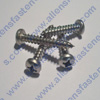 #4 STAINLESS STEEL PAN PHILLIPS SHEET METAL SCREWS