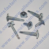#8  ROUND HEAD WASHER TEC (ZINC)