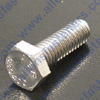 4mm-.07  HEX HEAD BOLT (STAINLESS)