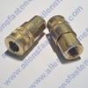 BRASS AIR COUPLER WITH 1/4 FEMALE PIPE