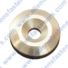 M8 ALUMINUM COUNTERSUNK STRINGER WASHER,1.254 O.D.,.343 THICK,FOR A COUNTERSUNK BOLT.