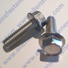 3/8-16 HEX SERRATED FLANGE BOLT,18-8 STAINLESS STEEL,BOLTS ARE FULLY THREADED UNLESS NOTED.