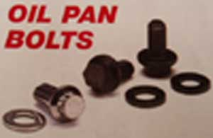 SMALL BLOCK CHEVY OIL PAN BOLT KIT