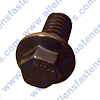 ARP 1/4-20 HEX BLACK OXIDE FLANGE BOLT