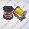 8GA AUTOMOTIVE WIRE AVALIBLE IN DIFFERENT SIZE'S AND RED & BLACK ONLY.SOLD IN 100 FT. ROLLS.