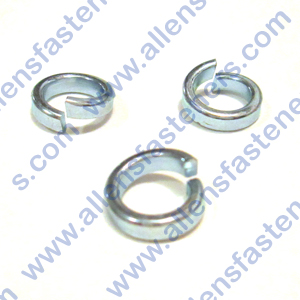 ZINC PLATED HIGH COLLAR LOCK WASHER