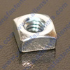 SQUARE MACHINE SCREW NUTS,ARE BLUE ZINC (SILVER) PLATED.