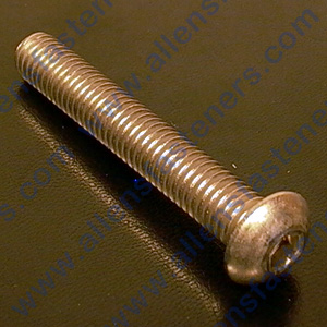 4mm-0.70 STAINLESS BUTTON HEAD ALLEN