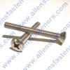 4/40 STAINLESS STEEL OVAL PHILLIPS SCREW