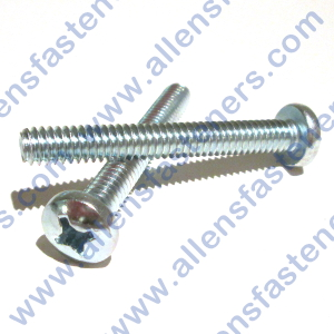 10/24 PAN HEAD PHILLIPS MACHINE SCREW