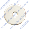 FENDER WASHER,GRADE 2,ZINC PLATED (SILVER),O.D. SIZE IS LISTED.